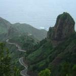 Горы в тумане - остров Тенерифе