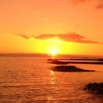 Закат на острове Тенерифе