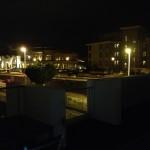 Ночной вид с виллы Абитатс (Habitats)  на район Дель Дюк