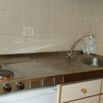 Кухонный блок  в апартаментах Касл Харбор, Лос Кристианос, о. Тенерифе