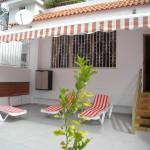 Терасса в апартаменте Вилла Тропикана (Villas Tropicana)