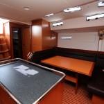 Столовая на яхте