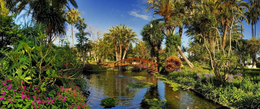 Jardin de Aclimatacion de la Orotava - Ботанический сад на острове Тенерифе